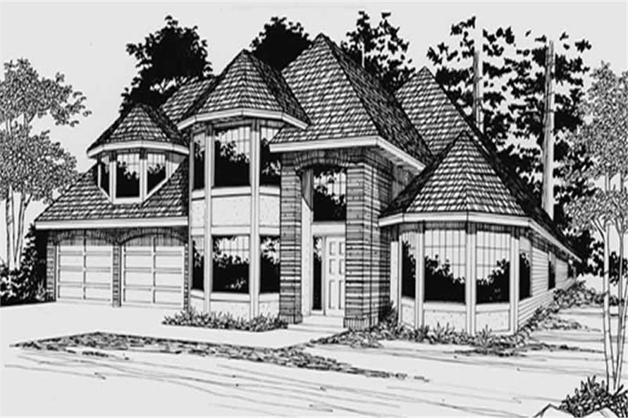 Main image for house plan # 2703