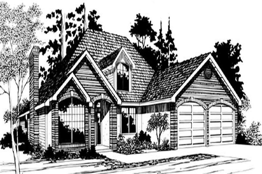 Main image for house plan # 2554