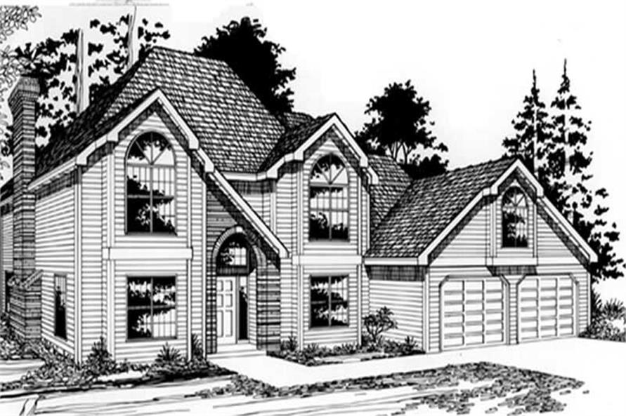 Main image for house plan # 2556