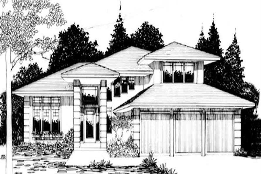 Main image for house plan # 2538