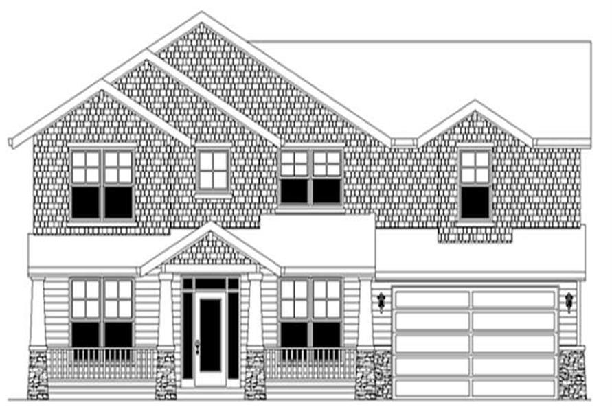 Main image for house plan # 2537