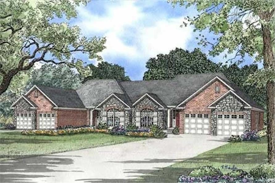 Main image for house plan # 17646