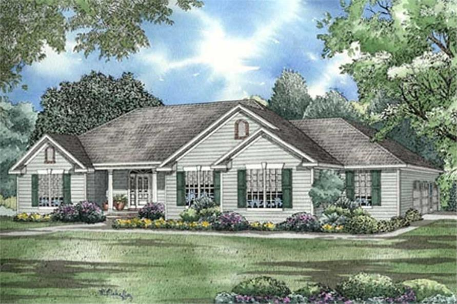 Main image for house plan # 17641