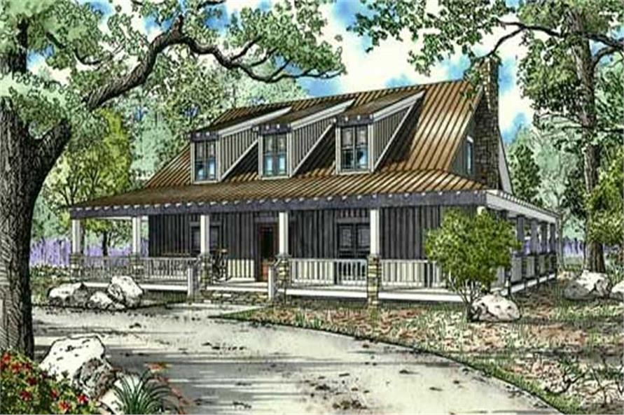 Main image for house plan # 16886