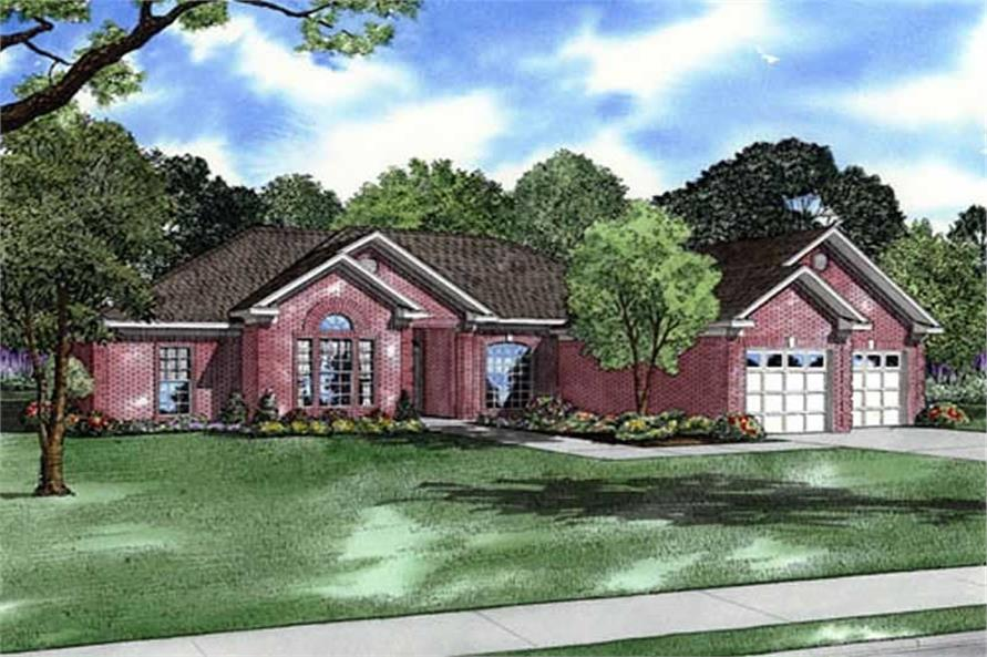 Main image for house plan # 17631