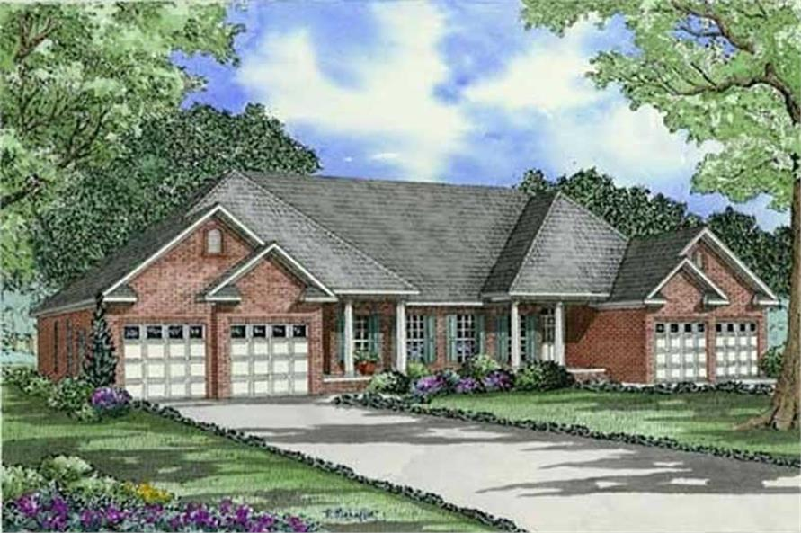 Main image for house plan # 17647