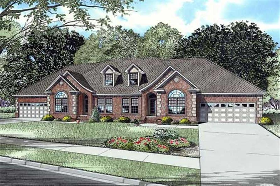 Main image for house plan # 17656