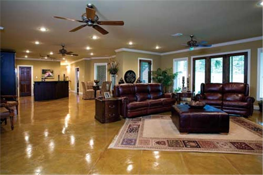 153-1021: Home Interior Photograph-Great Room