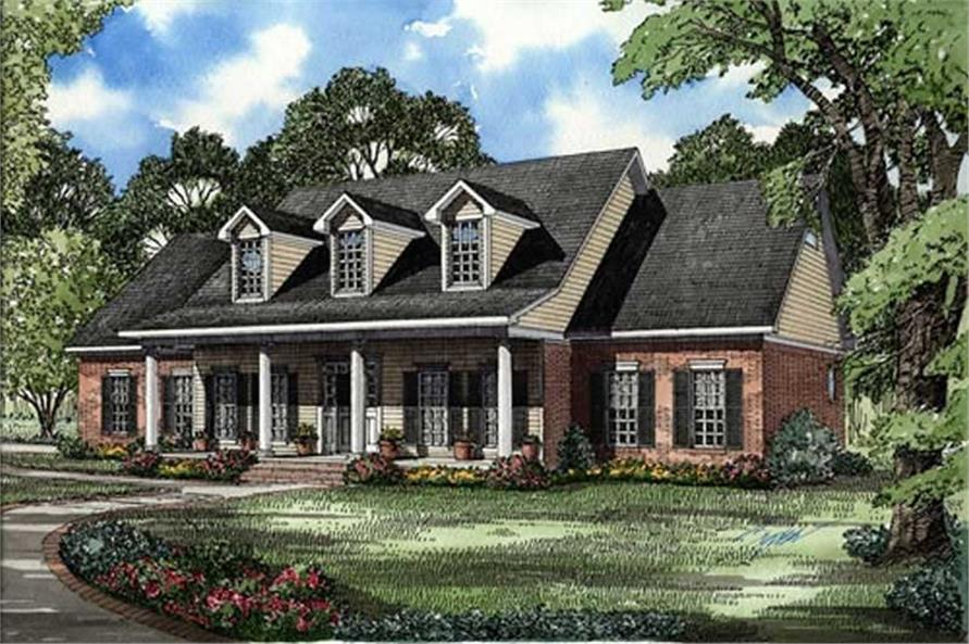Main image for house plan # 17613