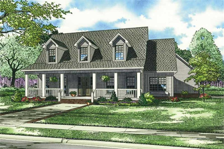 Main image for house plan # 17554