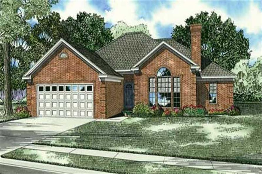Main image for house plan # 17577