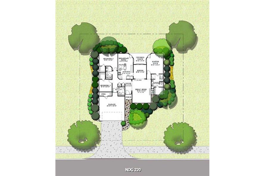 HOUSE PLAN NDG-220