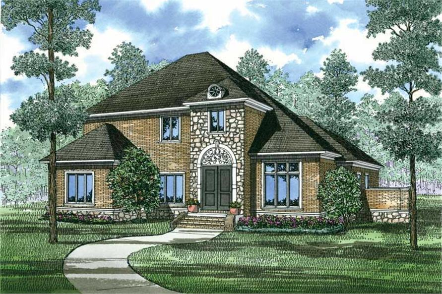 Main image for house plan # 19831