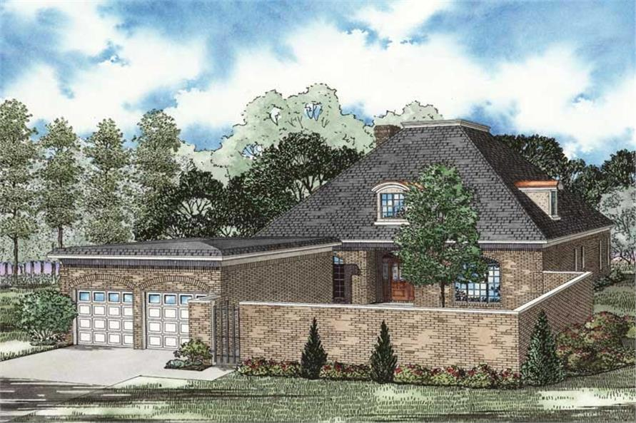 Main image for house plan # 19824