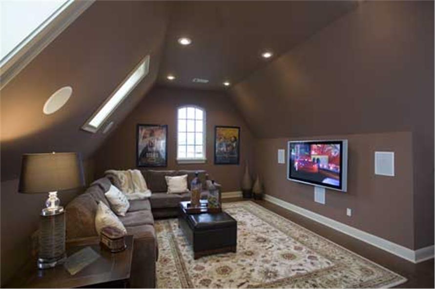 153-1068: Home Interior Photograph-Media Room