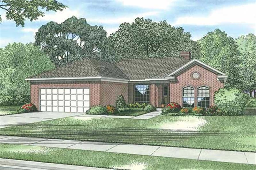 Main image for house plan # 19447