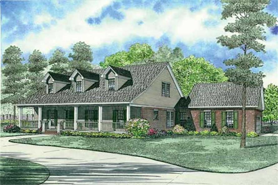 Main image for house plan # 19446