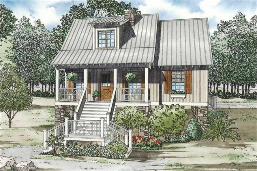 Main image for house plan # 19816