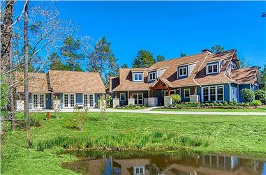 5-Bedroom, 4501 Sq Ft Country Home  - Plan #153-1121 - Front Exterior
