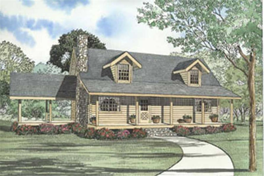 Main image for house plan # 5104