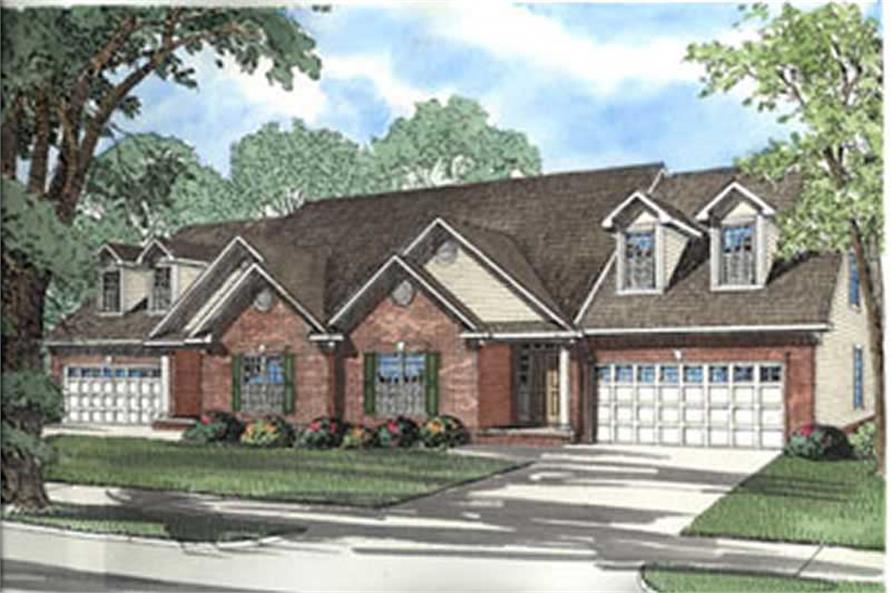 Main image for house plan # 3932