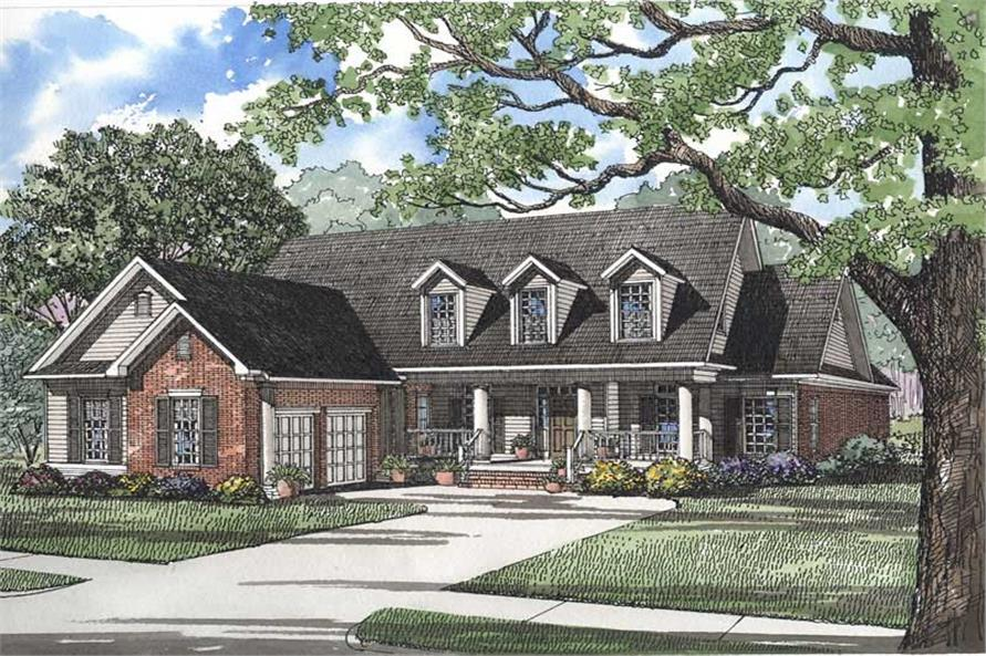 Main image for house plan # 3698