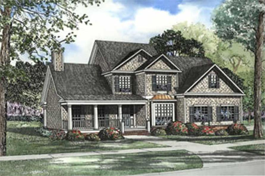 Main image for house plan # 3741