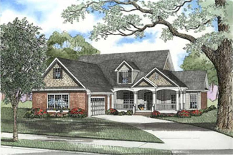 Main image for house plan # 3734