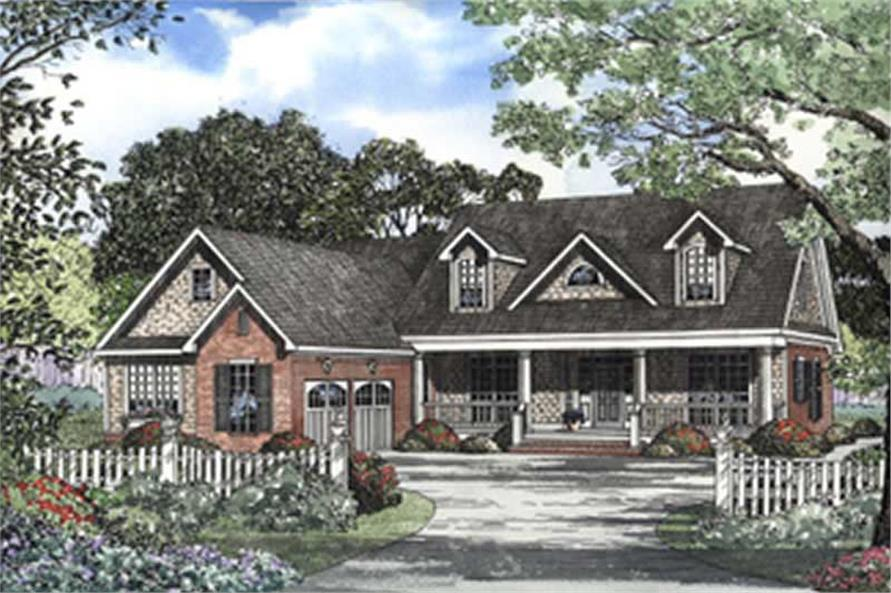 Main image for house plan # 3720