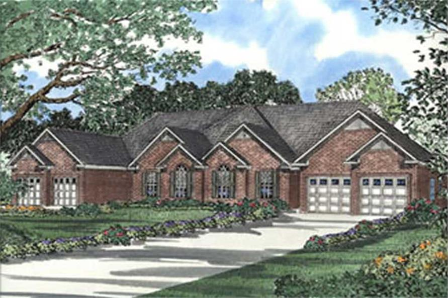 Main image for house plan # 3916