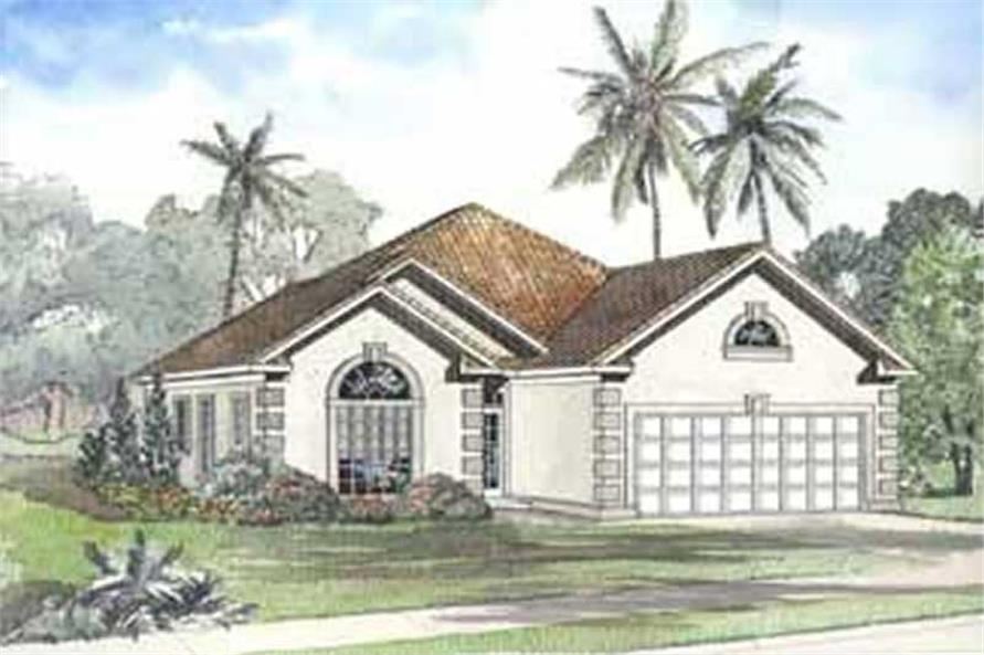 Main image for house plan # 3716