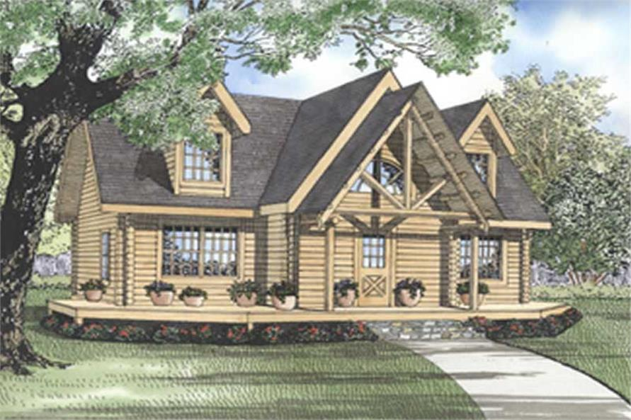 Main image for house plan # 5114