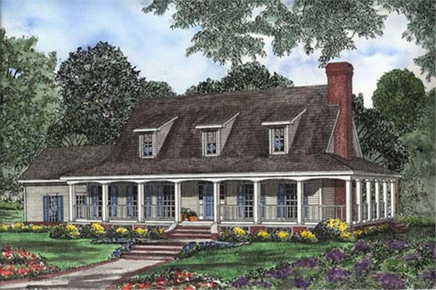 Main image for house plan # 7774