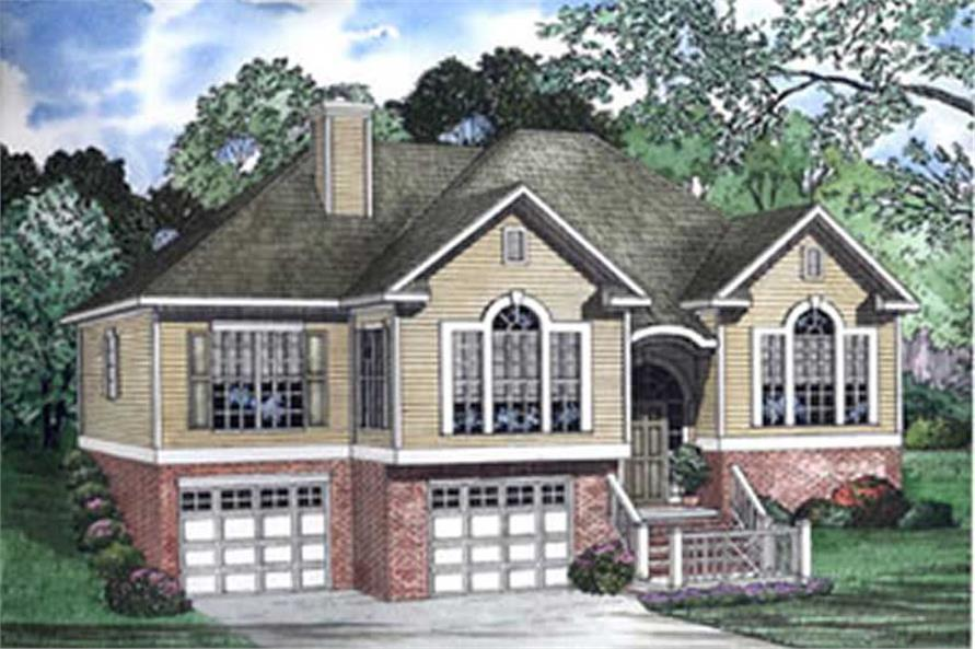 Main image for house plan # 3898