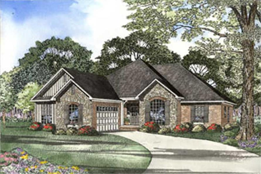Main image for house plan # 3791