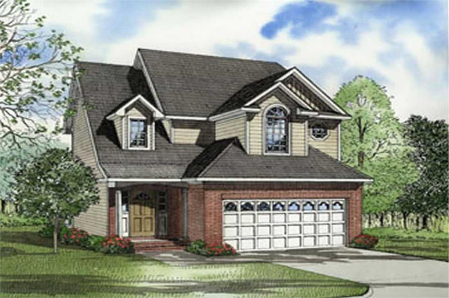 Main image for house plan # 4045