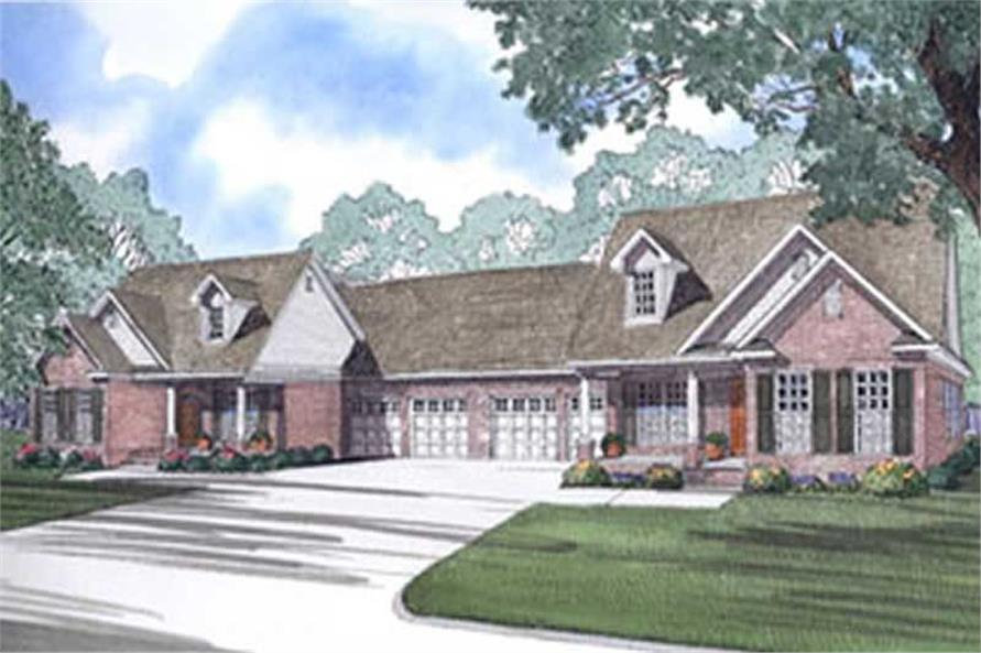 Main image for house plan # 3967
