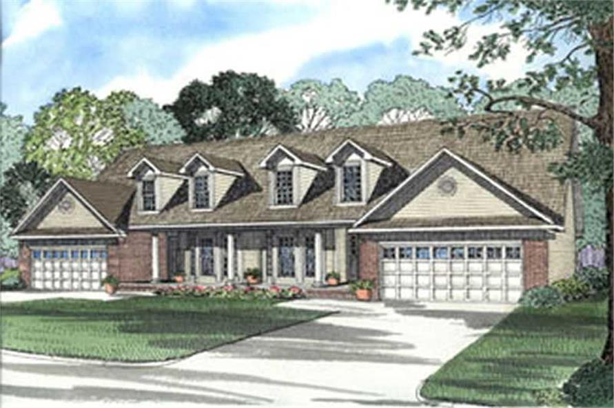 Main image for house plan # 3931