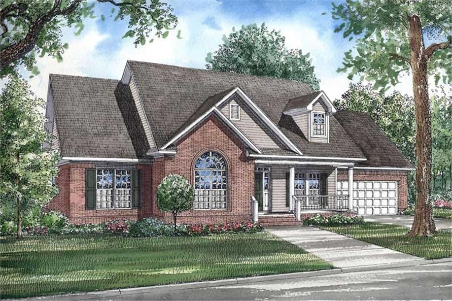 Main image for house plan # 3692