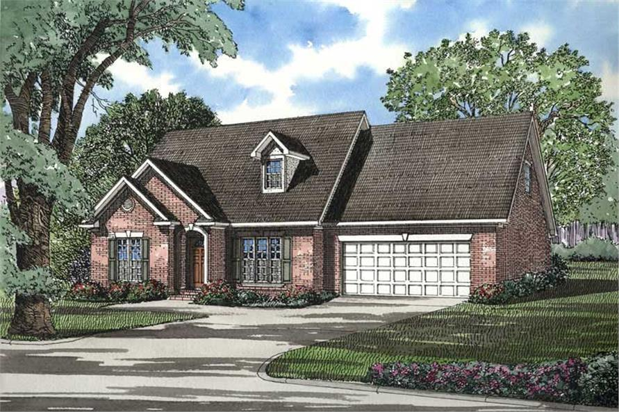 Main image for house plan # 3694