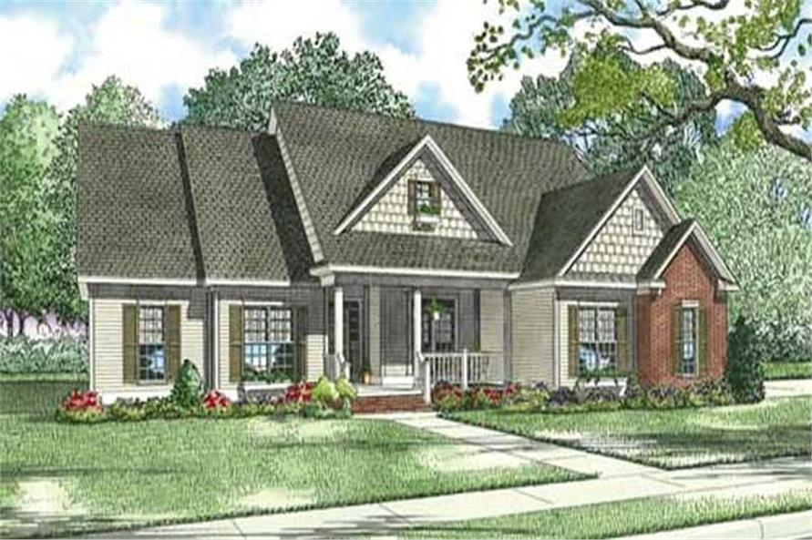 Main image for house plan # 3904