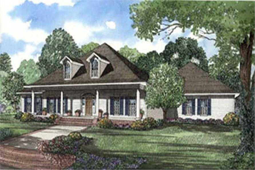 Main image for house plan # 4007