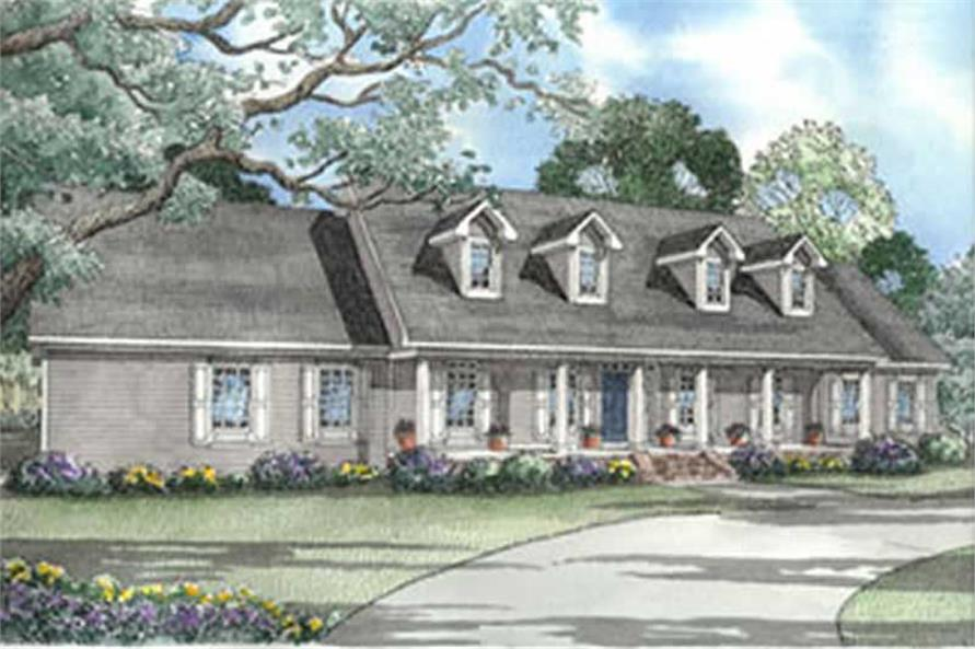 Main image for house plan # 4017