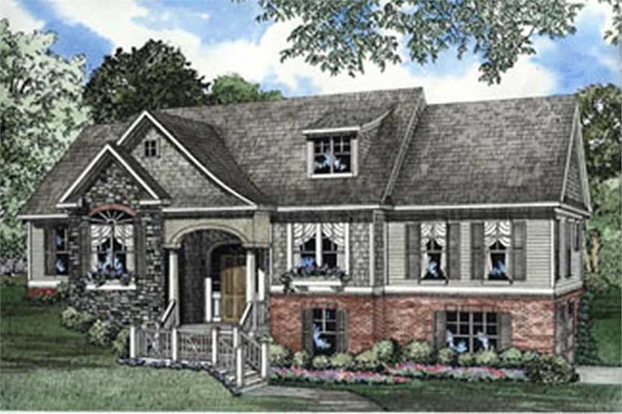 Main image for house plan # 3899