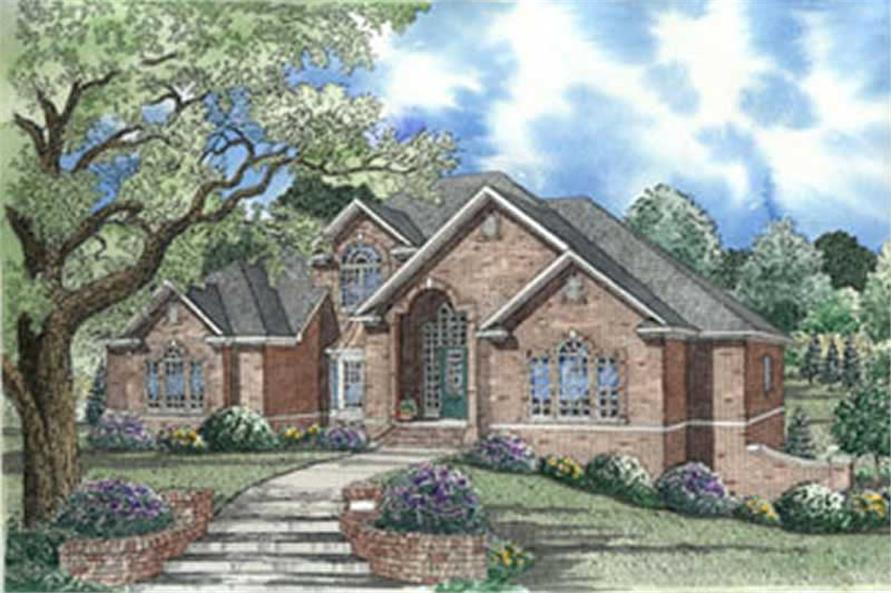 Main image for house plan # 3974