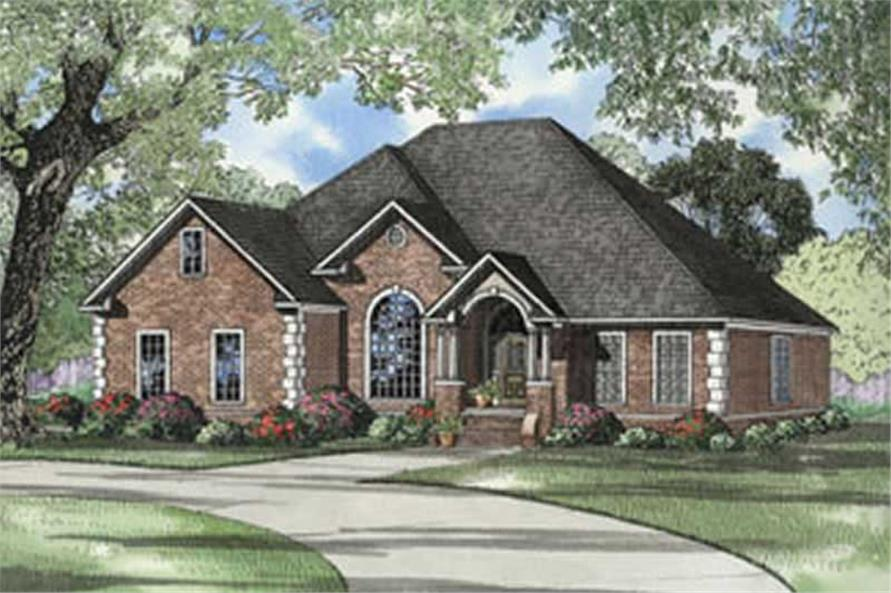 Main image for house plan # 5570