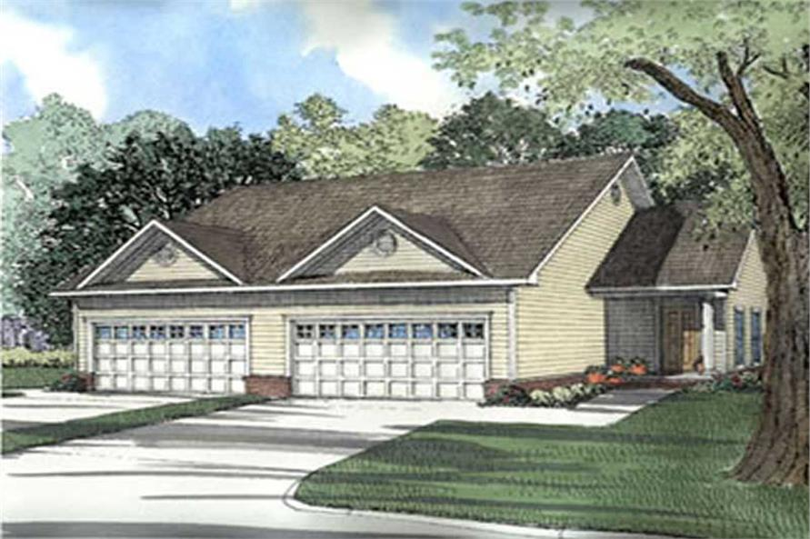 Main image for house plan # 3913