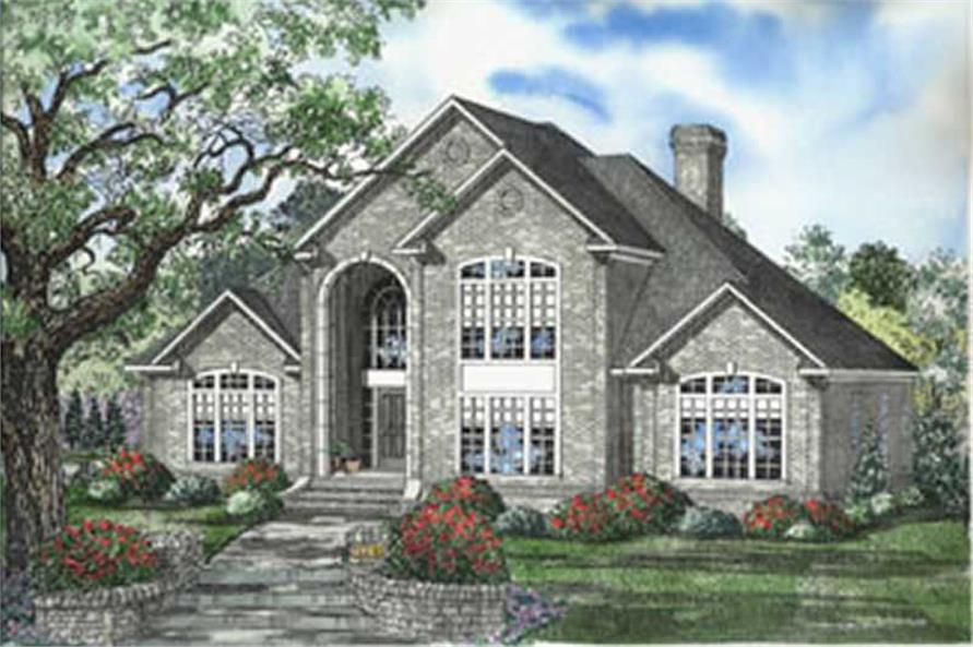 Main image for house plan # 5573