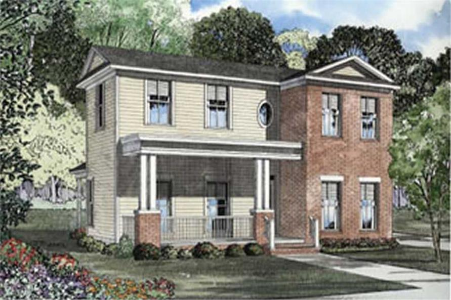 Main image for house plan # 4061