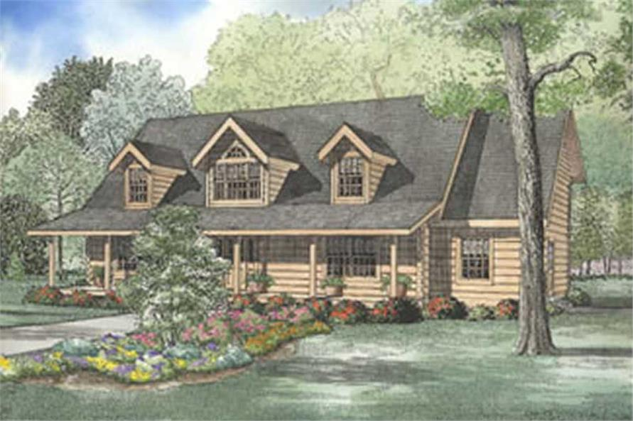 Main image for house plan # 5113